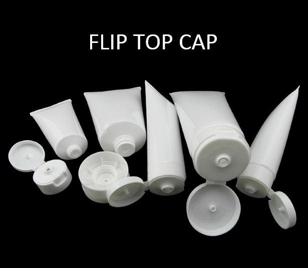 Flip top cap web